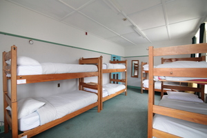Bed in shared 9 bed dorm mixed