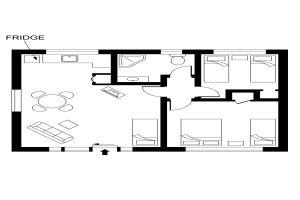 2 bedroom motel unit