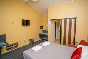 Flat screen TV & in room heating