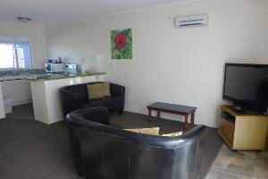 Two Bedroom Unit Lounge, Kitchen Area