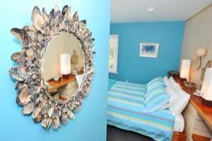 Boatshed Room Paua mirror