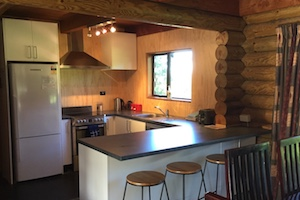 Corsican lodge kitchen