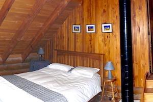 Pokaka lodge bedroom