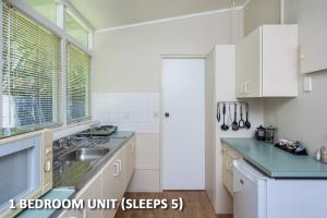 Super kitchenette in our One Bedroom Family Unit