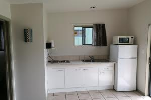 Kitchenette with hot plates, fridge/freezer, etc