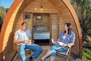 Harakeke hut 1 - enjoy the outdoors