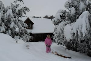 winter at Manuka lodge