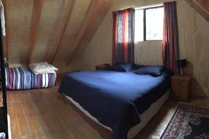 Corsican lodge bedroom