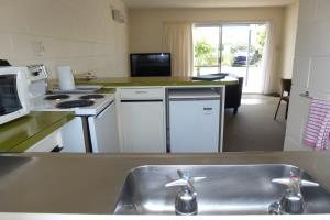 Two Bedroom unit, Kitchen area